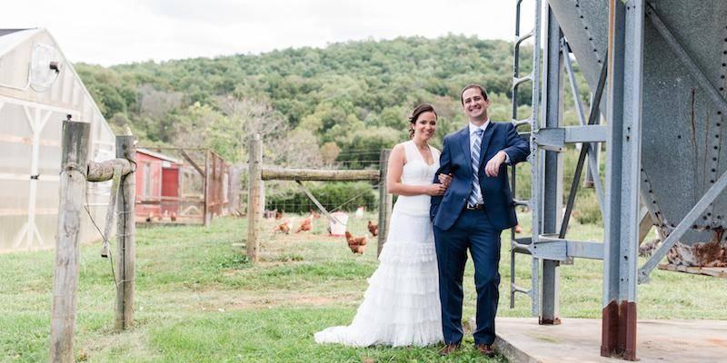 The Farm at Stillwater Spring wedding Frederick