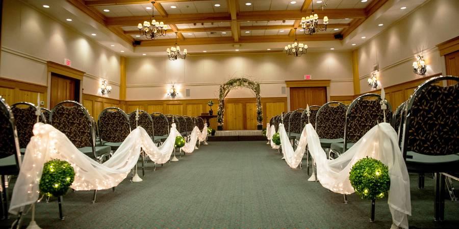 The Heathman Lodge wedding Tacoma