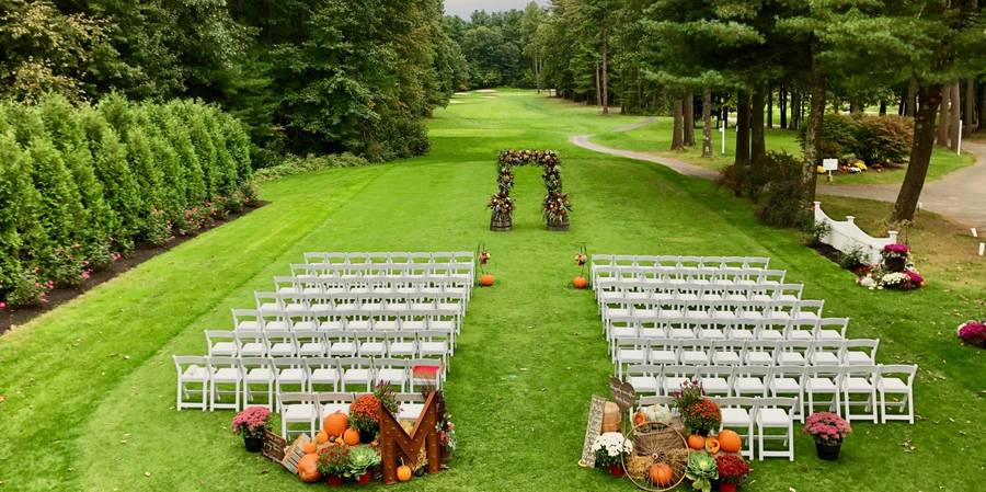 Butternut Farm Golf Club wedding Boston