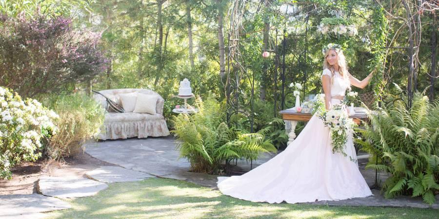 Arabella Laguna Vintage Garden Guest Cottages wedding Orange County