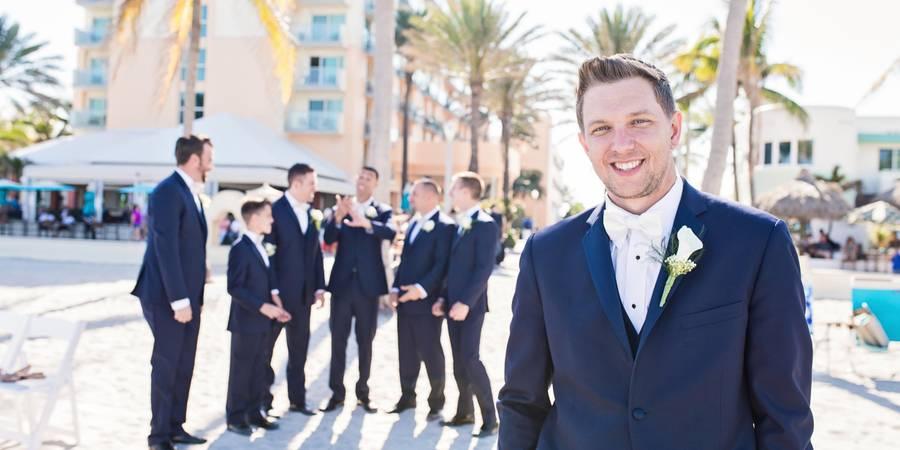 Hollywood Beach Marriott wedding Fort Lauderdale