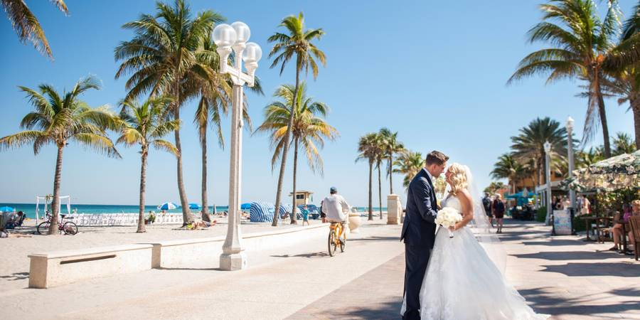 Hollywood Beach Marriott wedding Fort Lauderdale