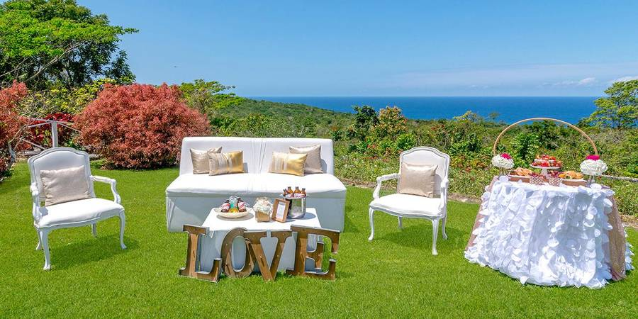 Prospect Estate and Villas wedding Jamaica