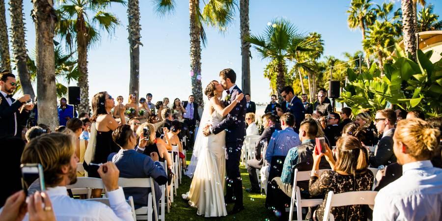 Paradise Point Resort & Spa wedding San Diego