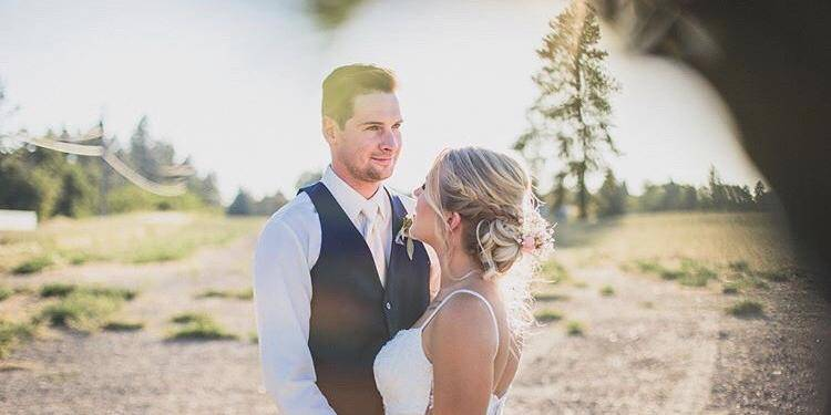 The Highlands Golf Course wedding Idaho