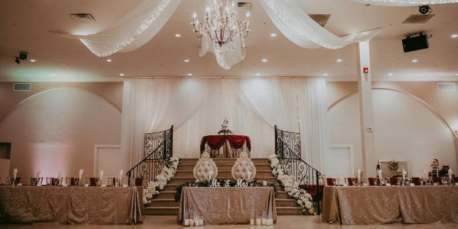 Garden Tuscana Reception Hall wedding Phoenix/Scottsdale