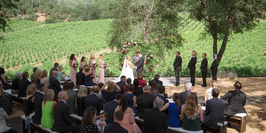David Girard Vineyards wedding Sacramento