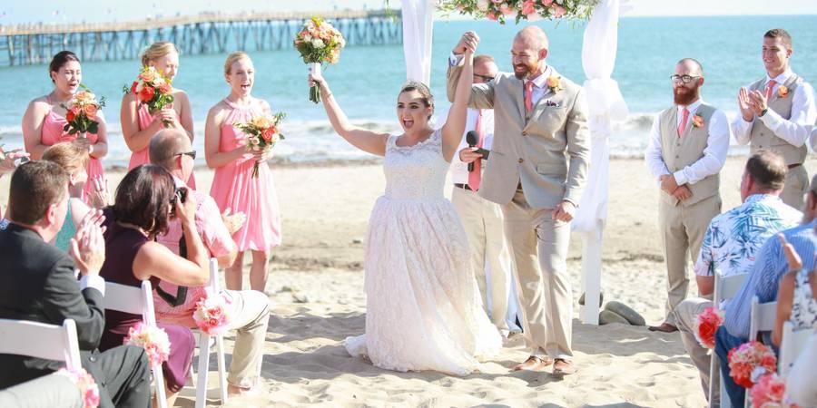 Crowne Plaza Ventura Beach wedding Santa Barbara