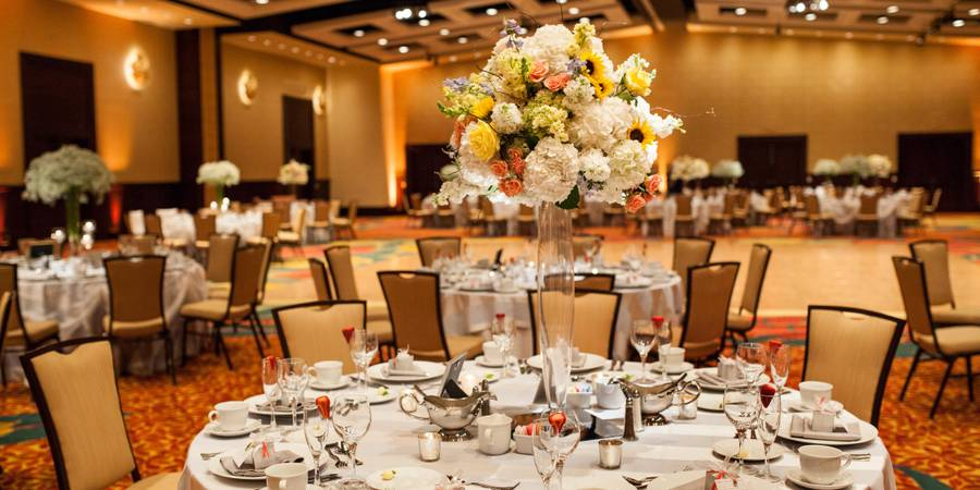 Lancaster Marriott at Penn Square wedding Central PA