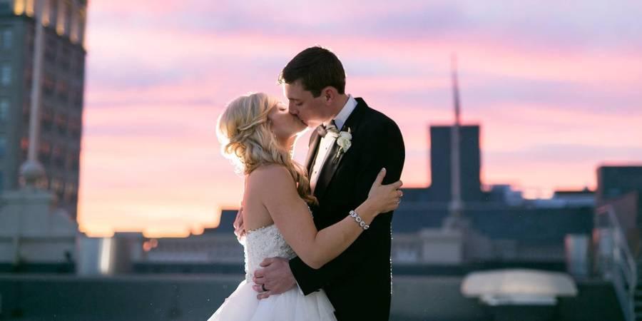 Lancaster Marriott at Penn Square wedding Central PA