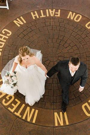 The Outpost Center wedding Minnesota
