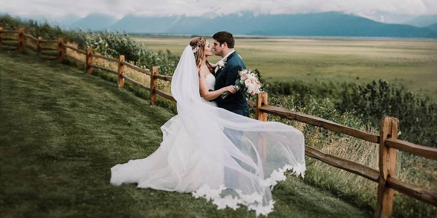 The Gathering Place wedding Alaska