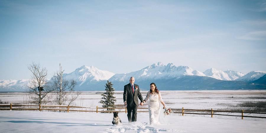 The Gathering Place wedding Alaska