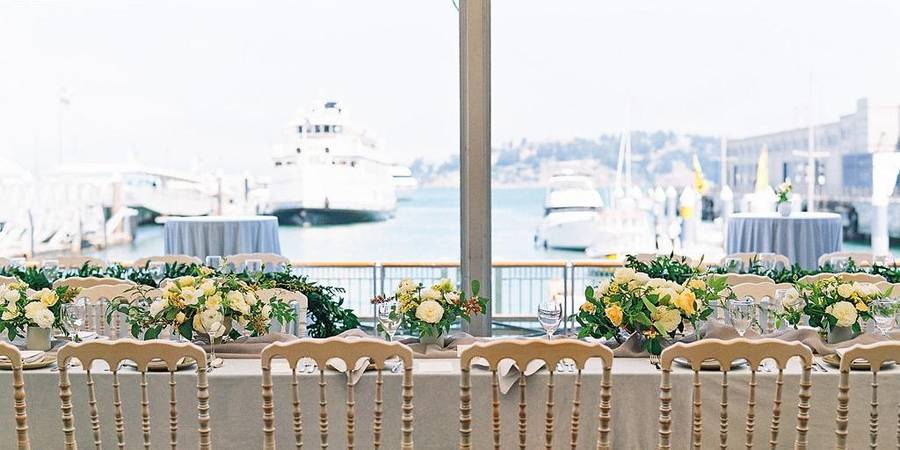 La Mar Cebicheria Peruana wedding San Francisco