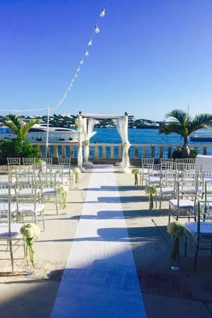 Hamilton Princess & Beach Club wedding Caribbean Islands