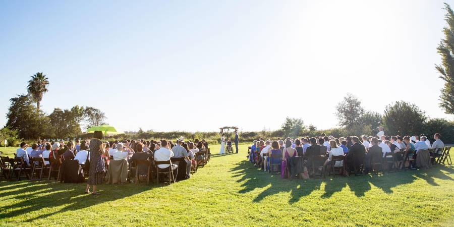 Retreat to the Farm wedding Sacramento