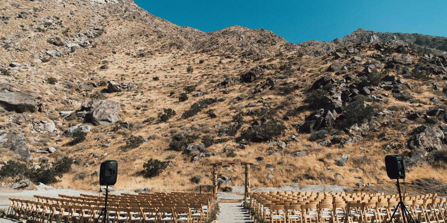 The Lazy C Ranch wedding Palm Springs