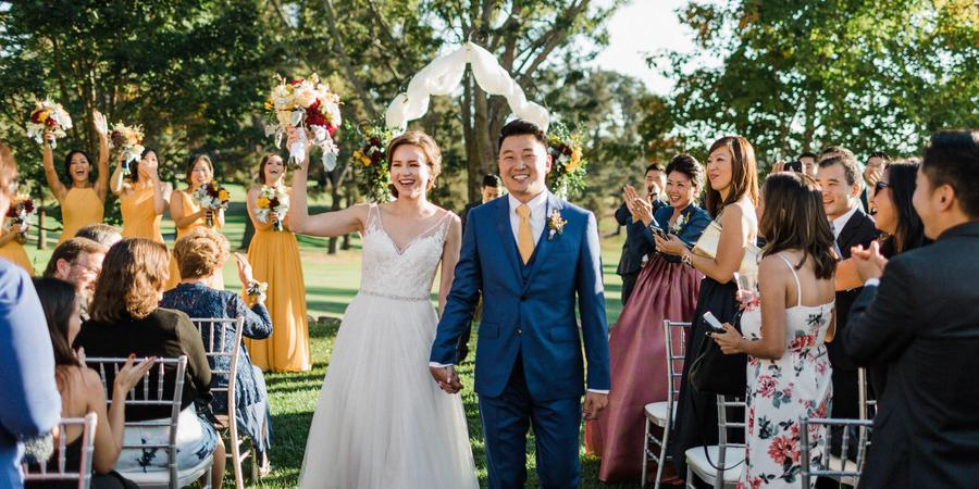 Sequoyah Country Club wedding East Bay