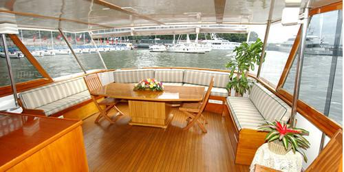 Yachts For All Seasons: Calypso wedding Manhattan