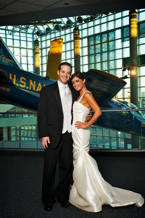 The Cradle of Aviation Museum wedding Long Island