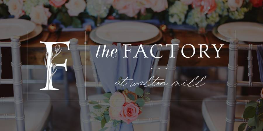 The Factory at Walton Mill wedding Atlanta