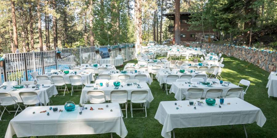 The Pinecone Resort wedding Lake Tahoe