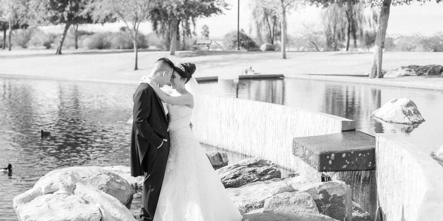 Rio Vista Recreation Center wedding Phoenix/Scottsdale