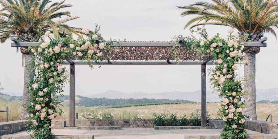 Carneros Resort and Spa wedding Napa/Sonoma