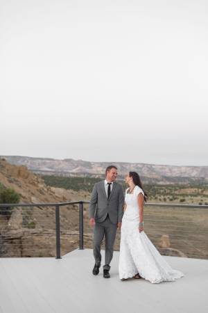 Escalante Cliff House wedding South Utah