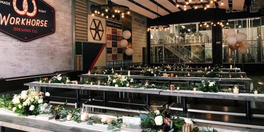 Workhorse Brewing Company wedding Philadelphia