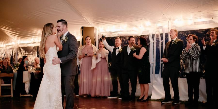 The Inn on Golden Pond wedding Merrimack