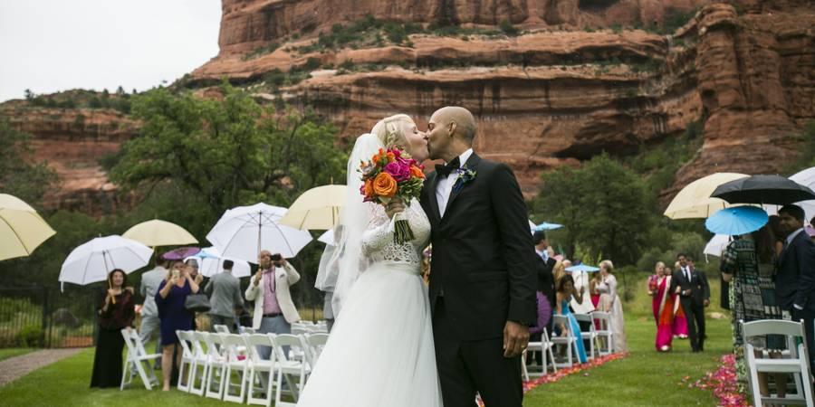 Enchantment Resort wedding Sedona/Flagstaff