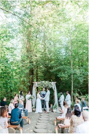 Robin Hood Village wedding Seattle