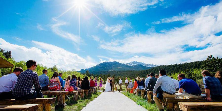Wild Basin Lodge wedding Boulder/Fort Collins