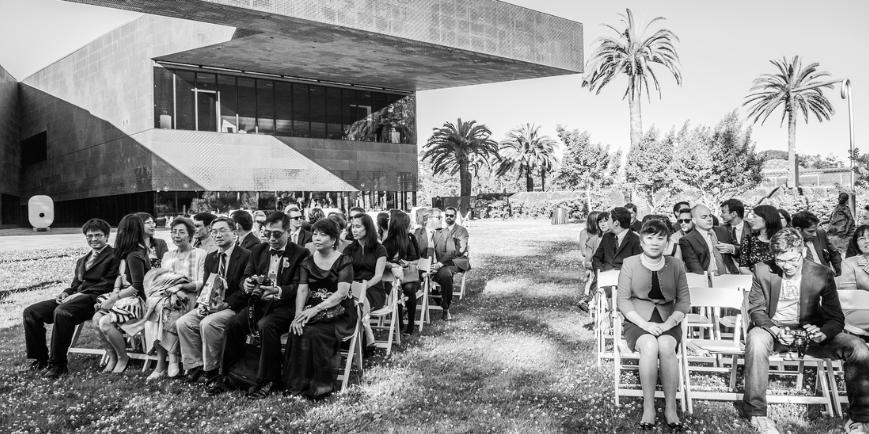 de Young Museum wedding San Francisco