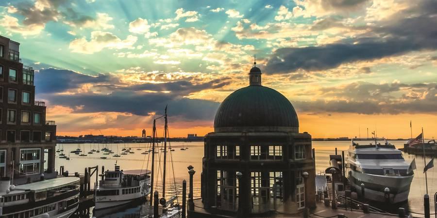 Boston Harbor Hotel wedding Boston