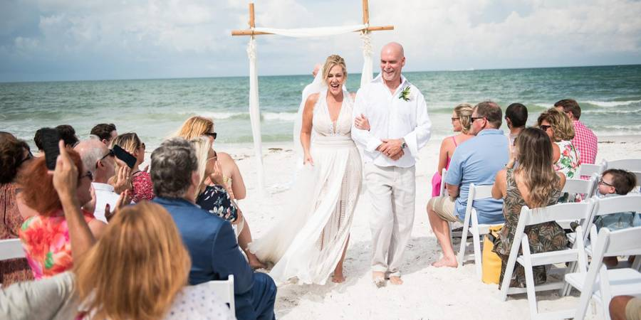The Grand Pavilion at The Sandbar wedding Miami