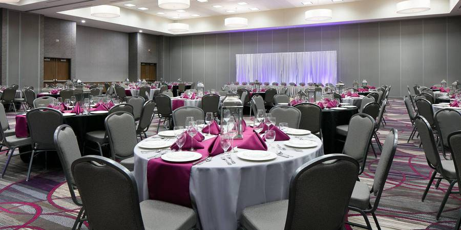 Courtyard by Marriott Beardmore Event Center of Bellevue wedding Nebraska