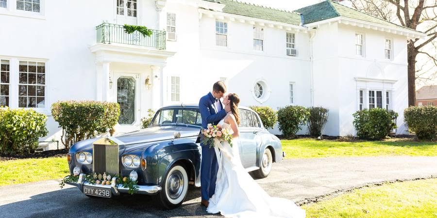 T. Austin Finch House wedding Greensboro/Triad