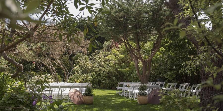The Hastings House Garden Weddings wedding Peninsula