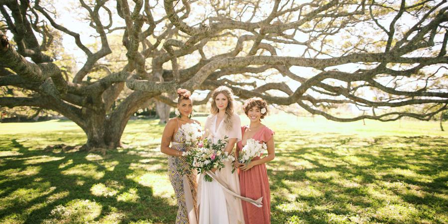 Hui No'eau Visual Arts Center wedding Maui