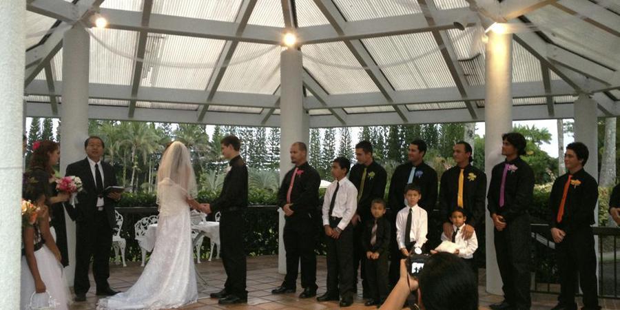 Nani Mau Gardens wedding Hawaii (Big Island)