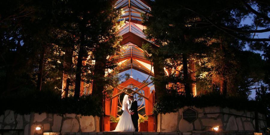 The Wayfarers Chapel wedding Los Angeles
