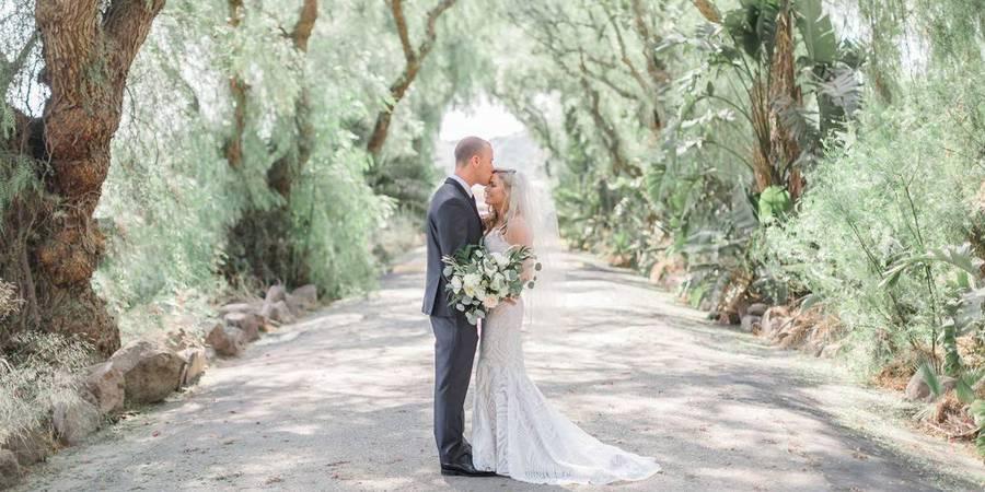 Rancho de las Palmas wedding Santa Barbara