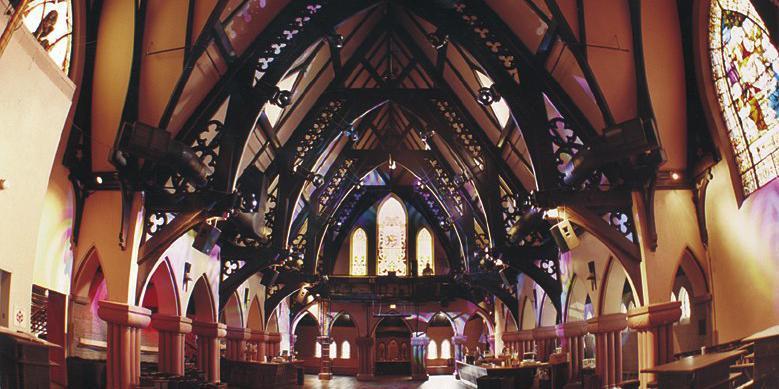 The Church - South of Colfax Nightlife District wedding Denver