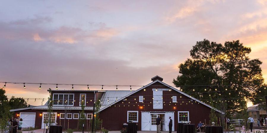 The Barn at Raccoon Creek wedding Denver