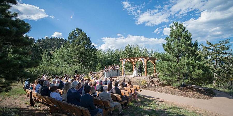 Taharaa Mountain Lodge wedding Boulder/Fort Collins