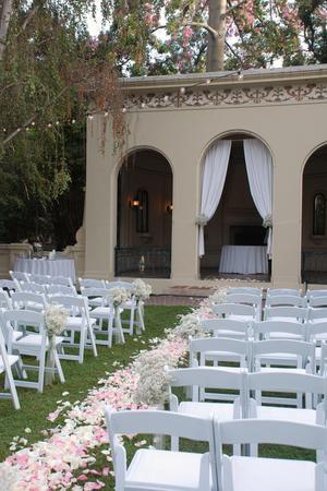 Ambassador Auditorium wedding Los Angeles