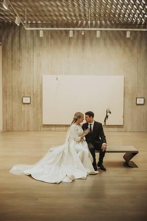 Clyfford Still Museum wedding Denver