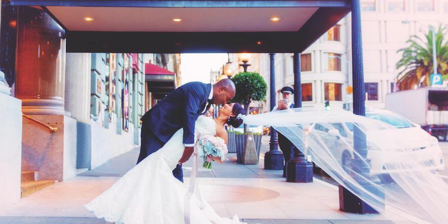 The Westin St. Francis wedding San Francisco